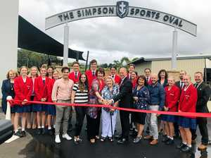 Simpson honoured with sports oval naming