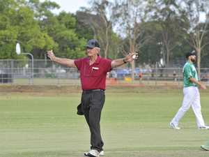 Umpire's efforts out in the middle recognised