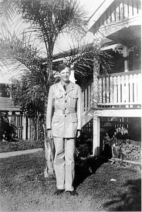 William Herbert Robinson in Air Force uniform, ca 1942.