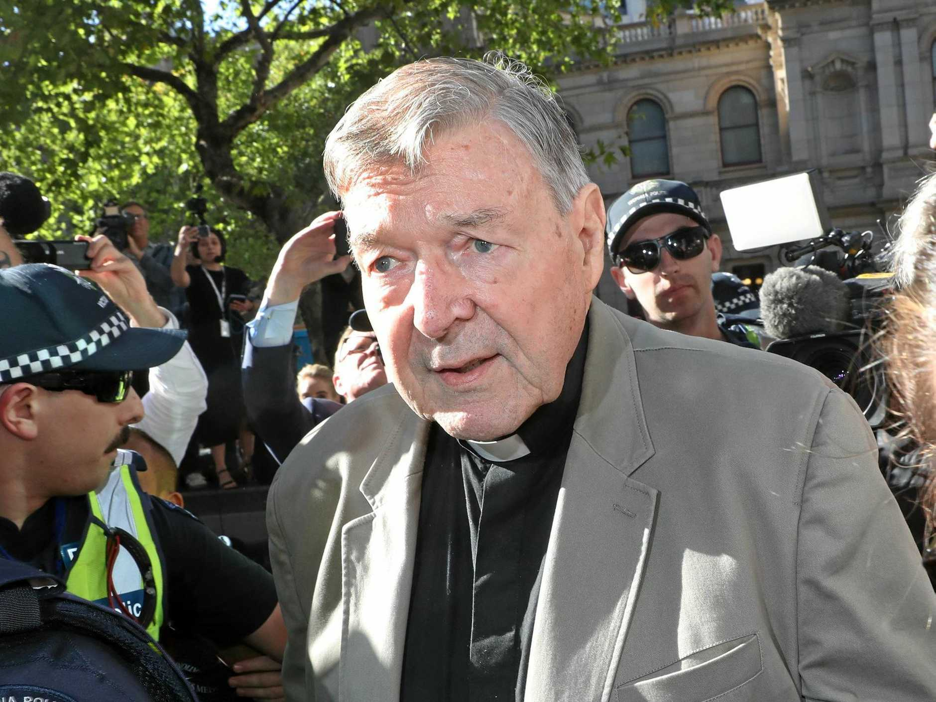 FOUND GUILTY: Cardinal George Pell.