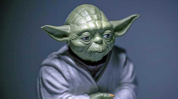 Yoda says: