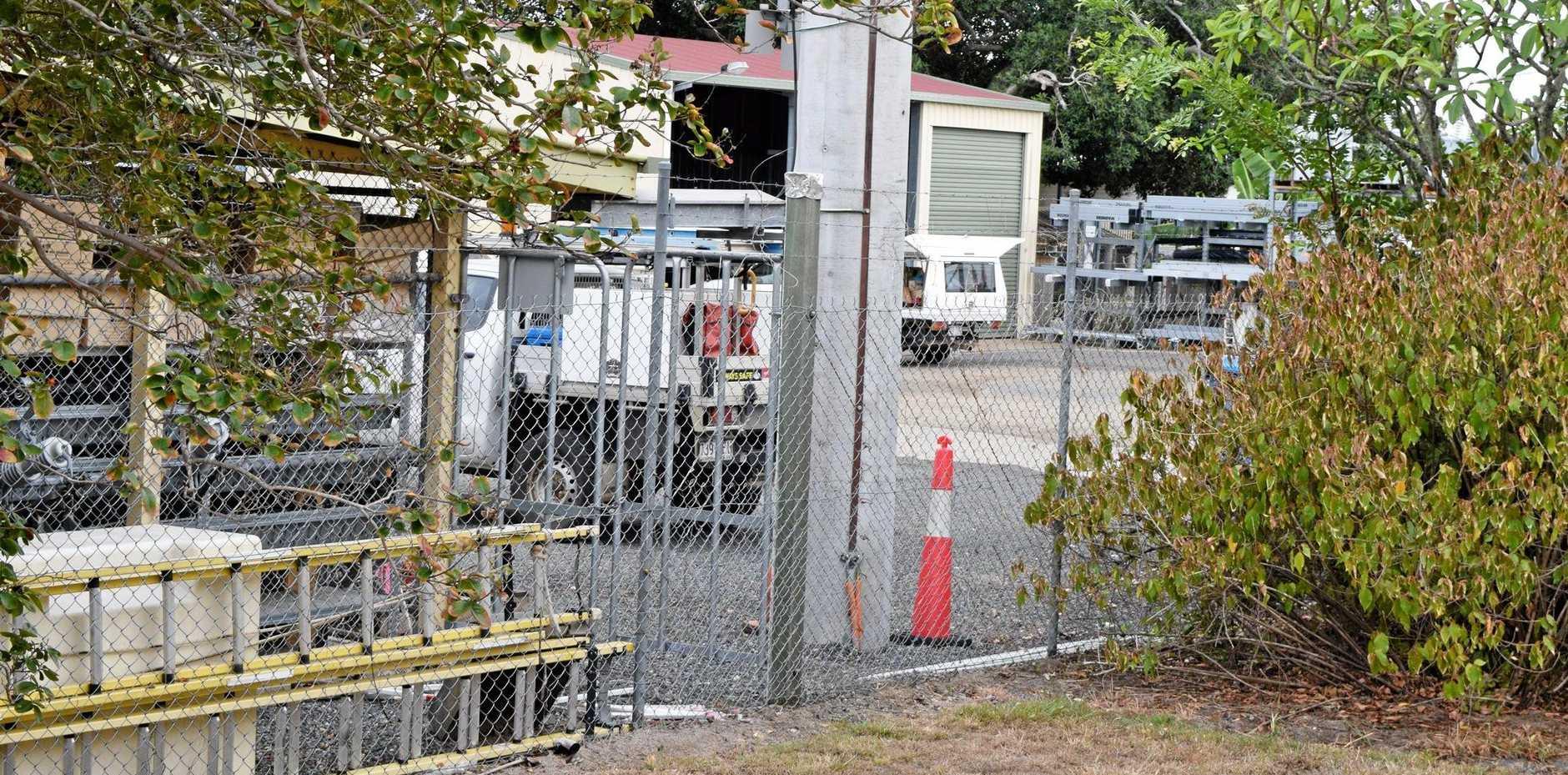 BREAK IN: Biggenden Ergon Energy depot has been broken into and a quantity of copper wire and tools stolen.