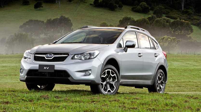 A Subaru XV.