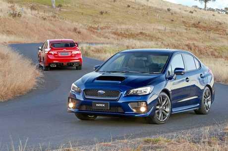 The Subaru WRX.