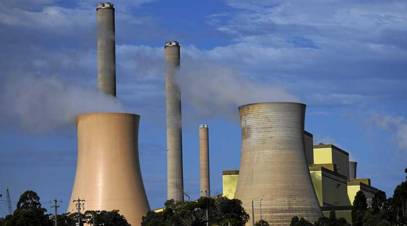 Loy Yang power station in the La Trobe Valley east of Melbourne, Thursday, April 12, 2018.