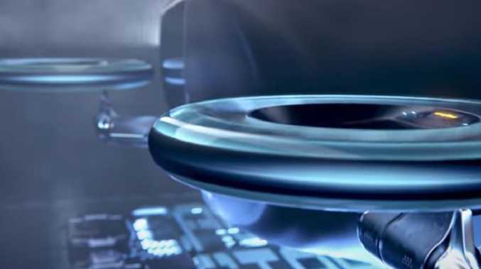 Goodyear aero tyre concept acts as a propeller.