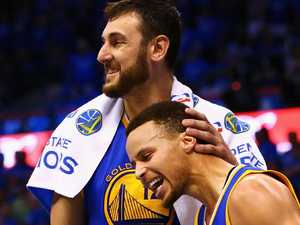 Bring on Bogut! Curry talks up big man addition
