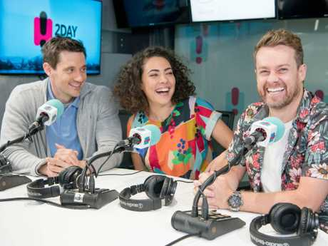 Ash London and Ed Kavalee remain the faces of the 2DayFM Breakfast show.