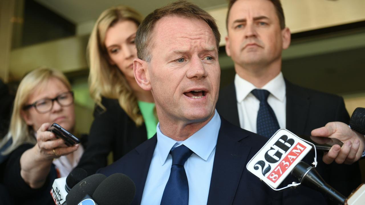 The Longstaff review was the beginning and end for Pat Howard. Picture: AFP