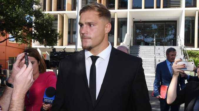 Jack de Belin is set to challenge his NRL ban in court. (AAP Image/Dean Lewins)