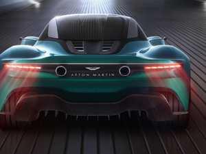 Aston Martin reveals Vanquish Vision concept at Geneva show