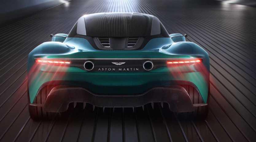 Aston Martin Vanquish Vision concept.