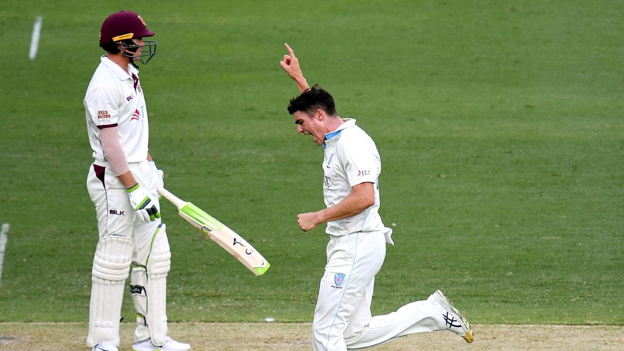 Sean Abbott removed Marnus Labuschagne for a duck in each innings.
