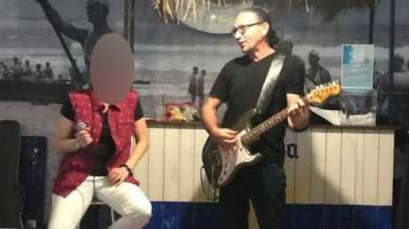 Sydney guitar teacher Angelos Tsoltoudis was arrested on Wednesday at his home.