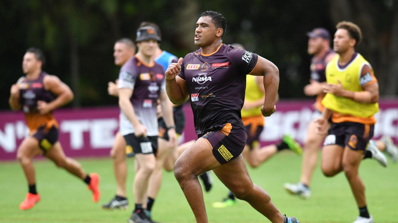 Tevita Pangai Jnr is expected to overcome a hamstring injury for the season opener. (AAP Image/Darren England)