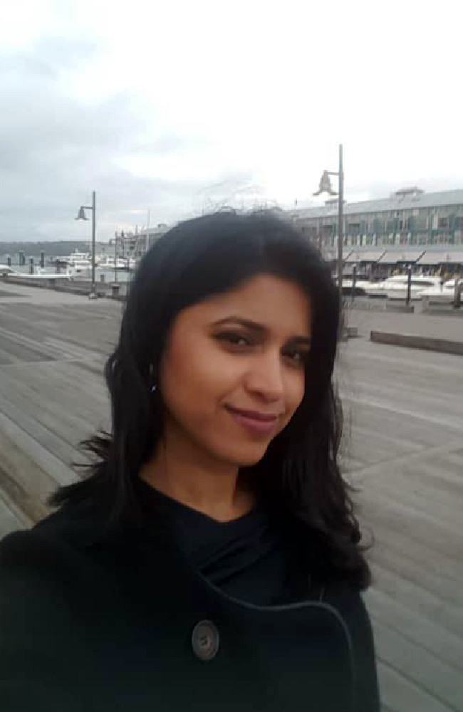 Preethi Reddy was found stuffed in a suitcase in a Kingsford on Tuesday night.