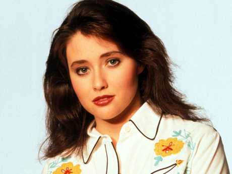 Shannen Doherty as Brenda Walsh Picture: Supplied