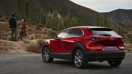 The CX-30 will bring all-wheel-drive and a higher ride height to the Mazda3 platform