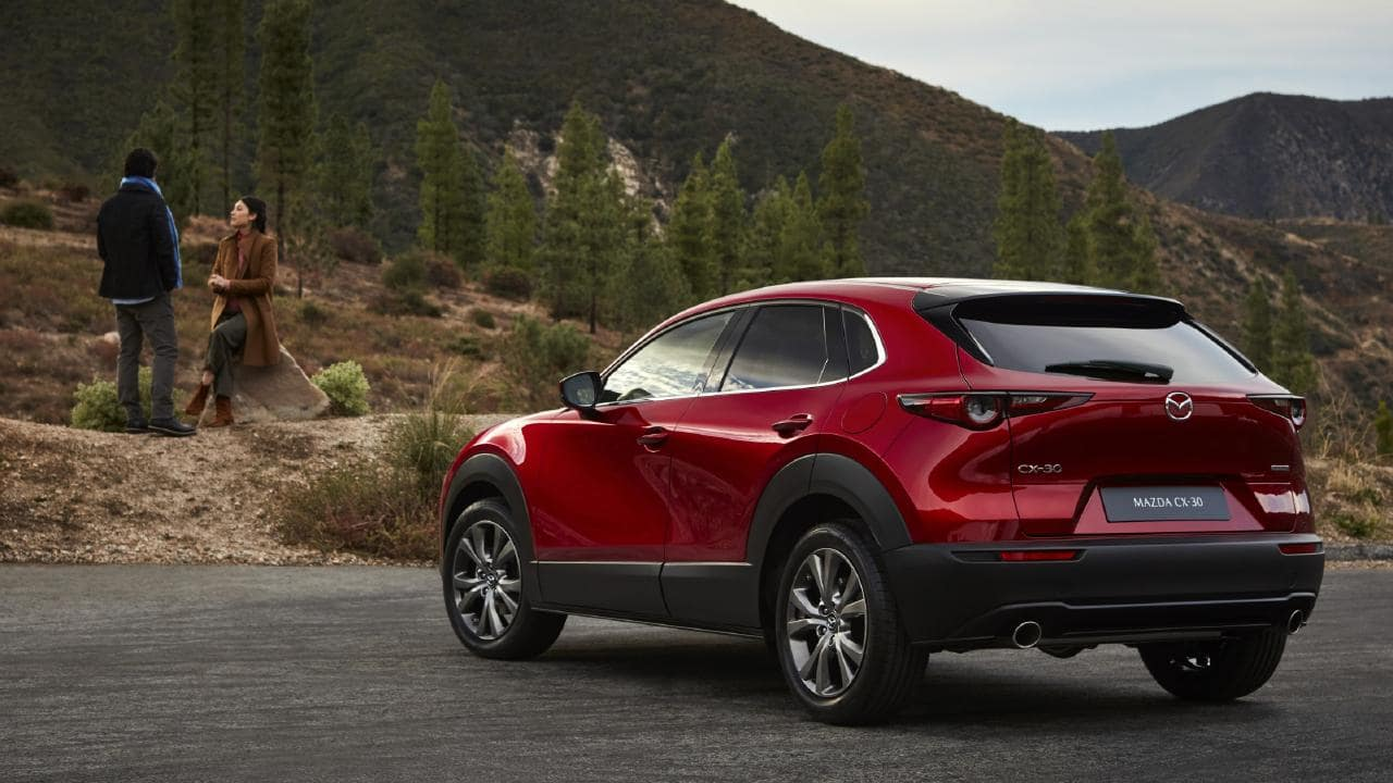 The CX-30 will bring all-wheel-drive and a higher ride height to the Mazda3 platform.