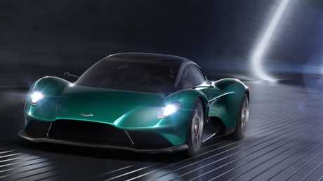 Aston Martin Vanquish Vision concept is set to be a mid-engined Ferrari hunter.