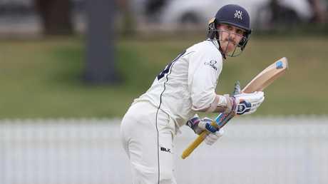 Nic Maddinson scored 136 for Victoria against Tasmania.