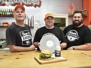 Burgers, beers and vinyls combine for Toowoomba event
