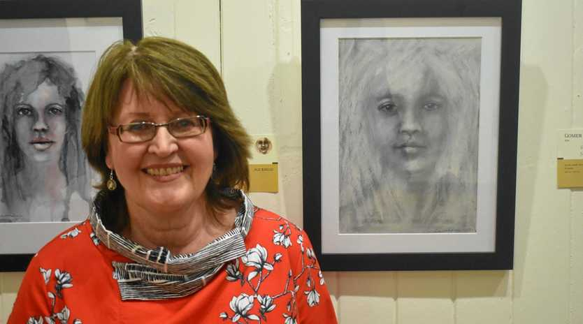 KEEPING COMPANY: Loretta Waldron opens her new exhibition In the Company of Women.
