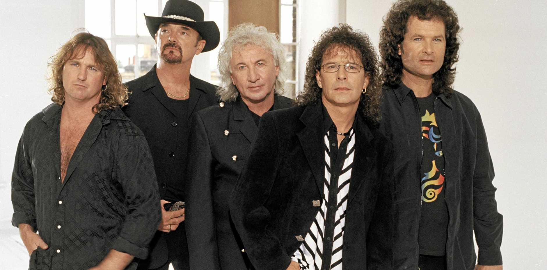 HEADLINE ACT: Hit UK band Smokie is among the first headline acts for the 2019 Airlie Beach Festival of Music.