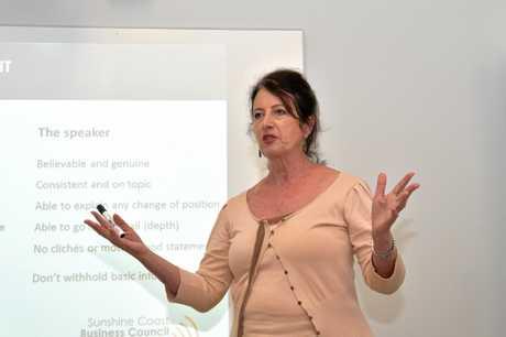 Sunshine Coast Business Council Chair Sandy Zubrinich