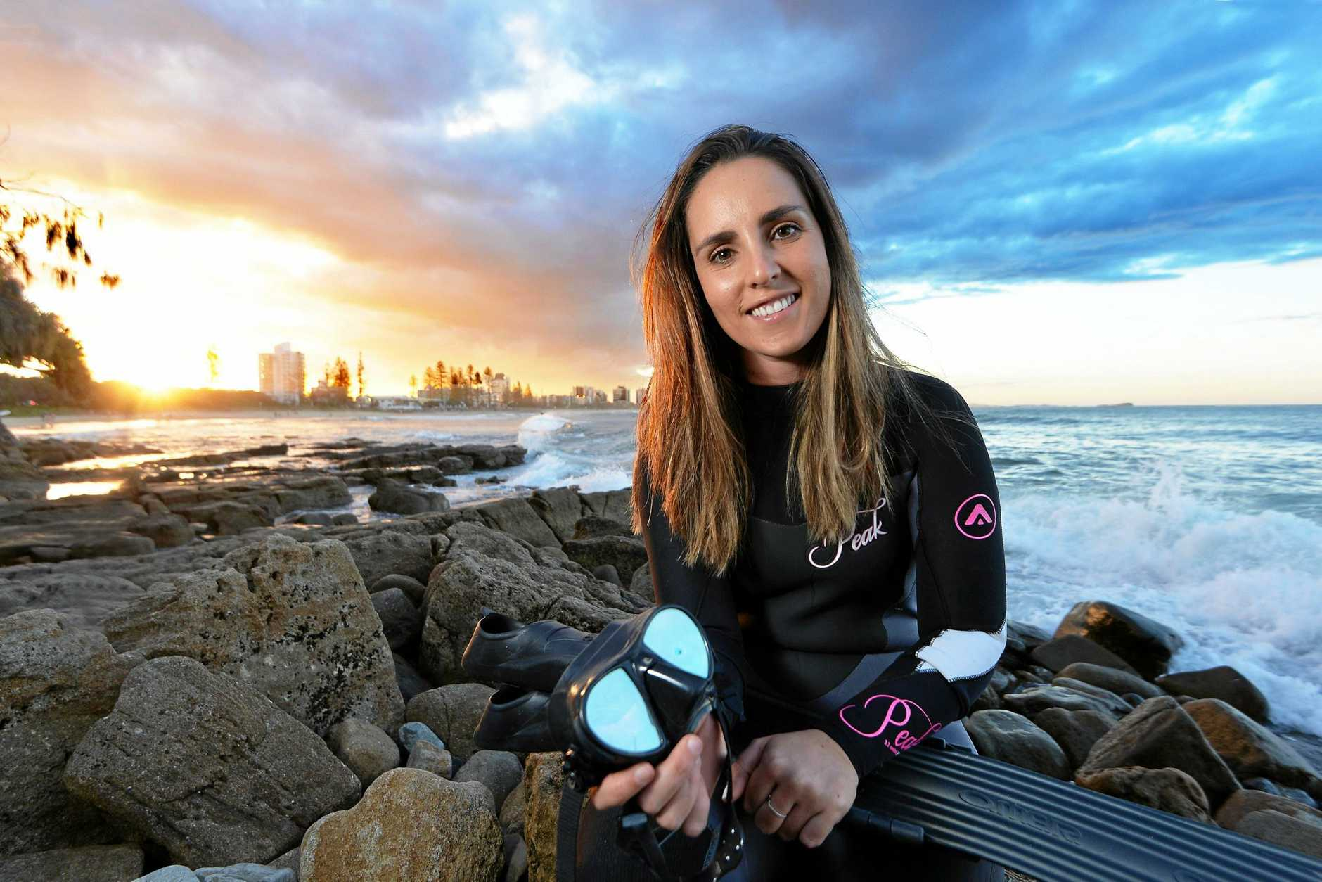 Steph Gabriel runs conservation retreats to Tonga where she takes girls over to swim with whales and other marine life. Uses it as a way to teach people about the impact of plastic and waste on marine life.