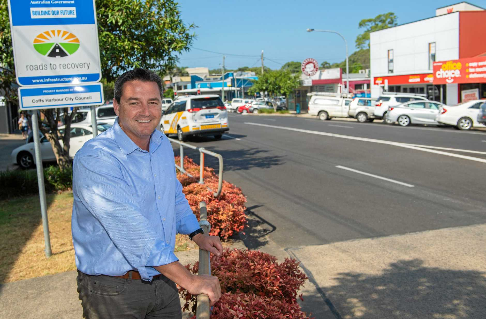 The Nationals candidate for Cowper Patrick Conaghan.