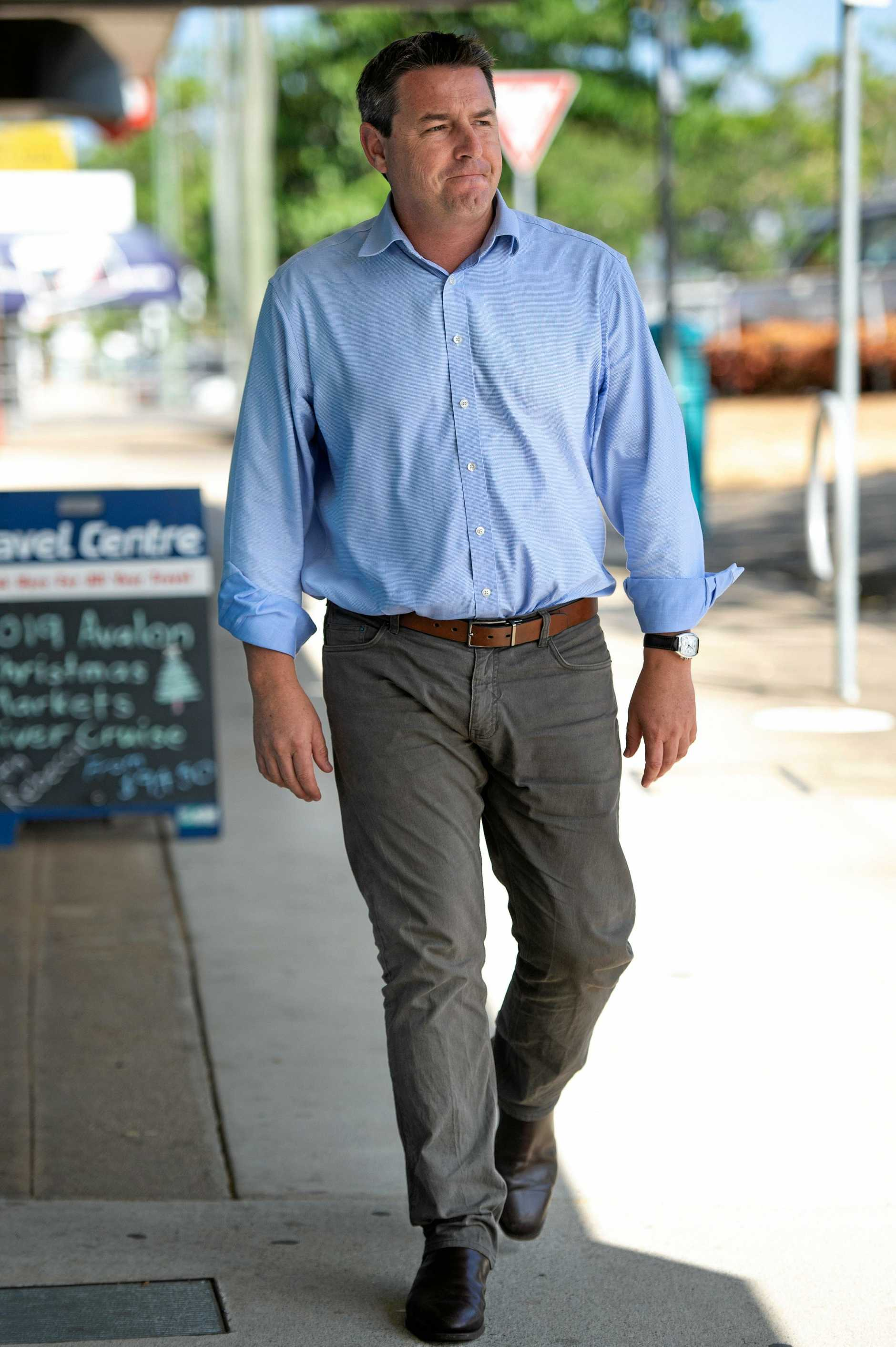 national party candidate for Federal seat of Cowper,   Patrick Conaghan.. 25 JAN 2019