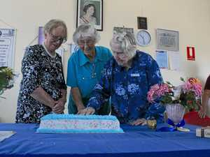 Ladies say fond farewells