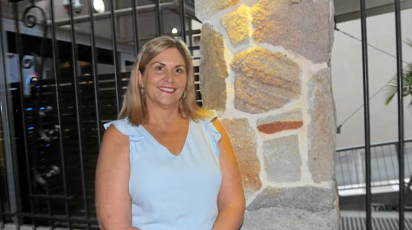 MILESTONE: Jellina White celebrates 10 years as the owner and manager of Gympie's Bank of Queensland.