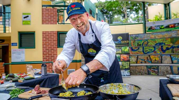 TASTE TEST: Gympie Region Food and Food Tourism Ambassador Matt Golinski will be cooking up some suprising plants at the Gympie Garden Expo next month.
