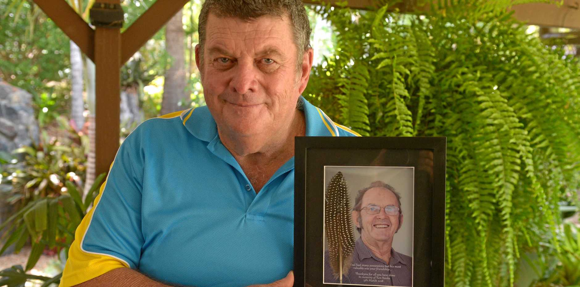Stephen Walker remembers past president of the Finch and Parrot Club, Ken Banks.