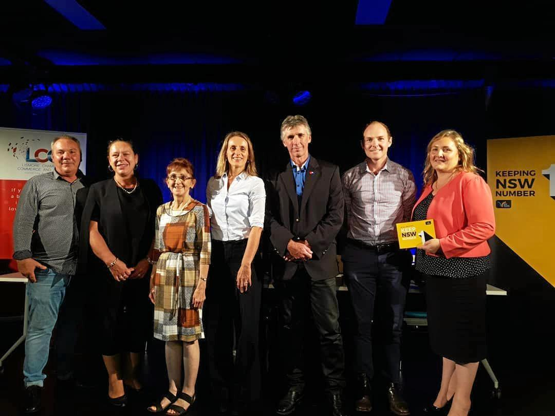 Candidates for the seat of Lismore were invited to speak at the Lismore Chamber of Commerce and Industry candidates forum.