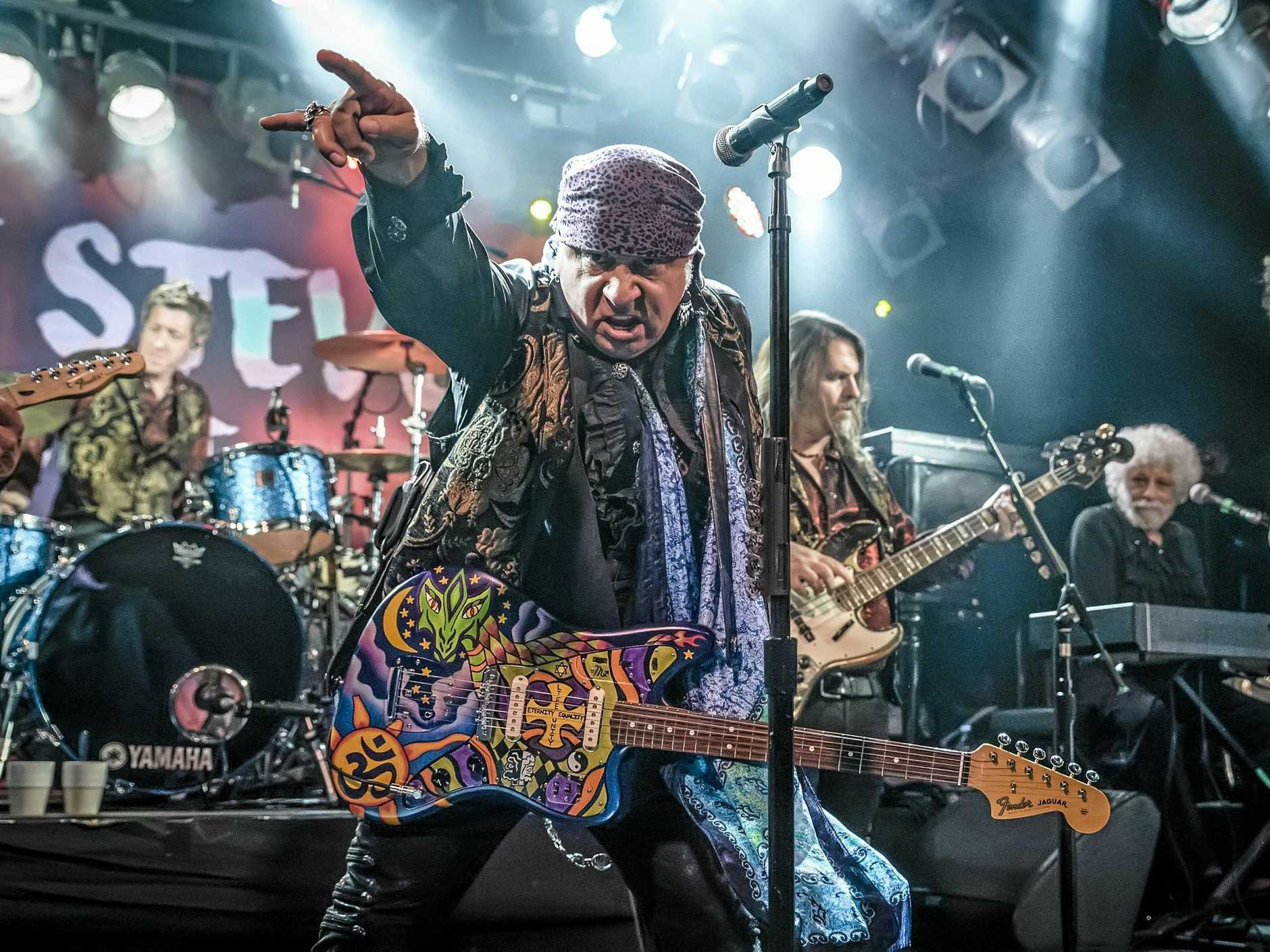 LEGENDARY: Steven Van Zandt will bring his band Little Steven and The Disciples of Soul.