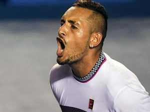 Rafa deadpans Kyrgios' salty spray
