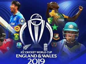 Who and when do Australia play at Cricket World Cup?