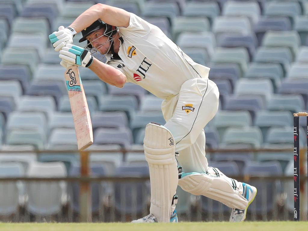 Cameron Bancroft bats for Western Australia after serving out his suspension.