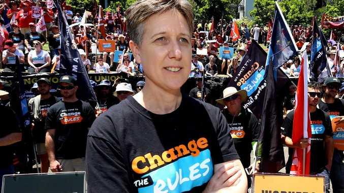 ACTU secretary Sally McManus. Picture: AAP