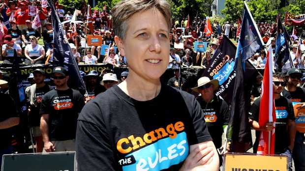ACTU secretary Sally McManus. Picture: AAP