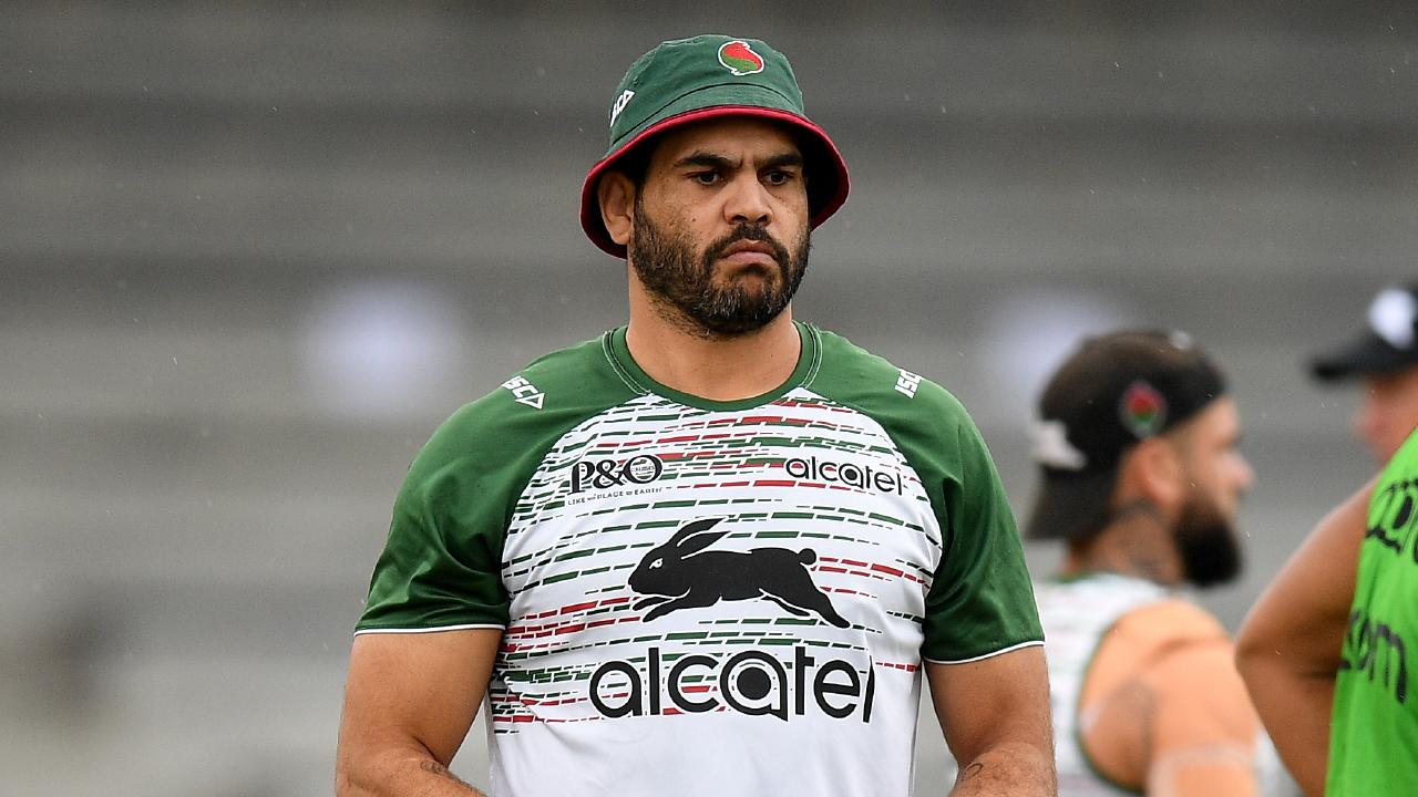 Greg Inglis has been told what he needs to do to get on the field. AAP Image/Dan Himbrechts.