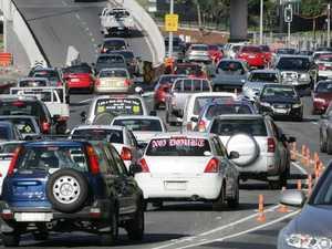 Motorcyclist feared dead, city roads gridlocked