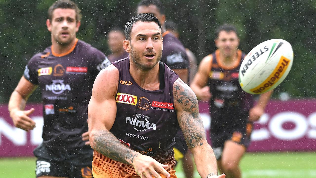 Brisbane have begun preparations for life after Darius Boyd. (AAP image, John Gass)