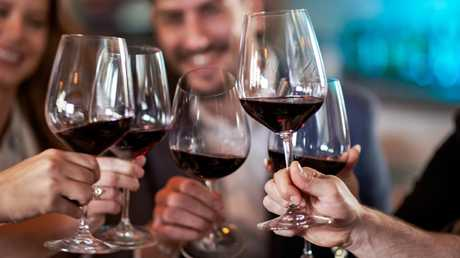 We might no longer be as steadily booze-soaked as we once were, but alcohol is still writ large at social occasions. Picture: iStock