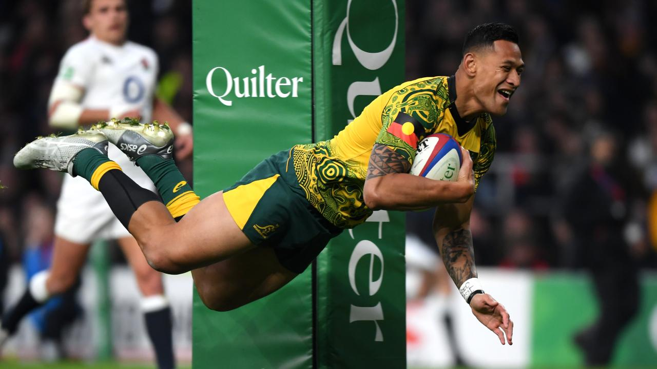 Israel Folau wants an opportunity at winning Olympic gold. Picture: Getty
