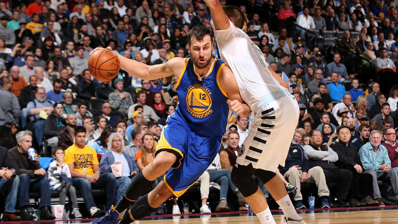 Andrew Bogut says he'll be happy with whatever role the Warriors have for him. Picture: Getty