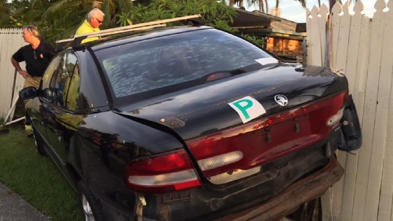 A resident believes the car the teenager was driving was one that had been seen abandoned at the side of the road for days.